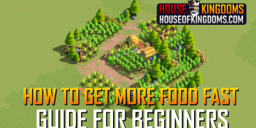 How to Get More Food Fast Rise of Kingdoms Guide