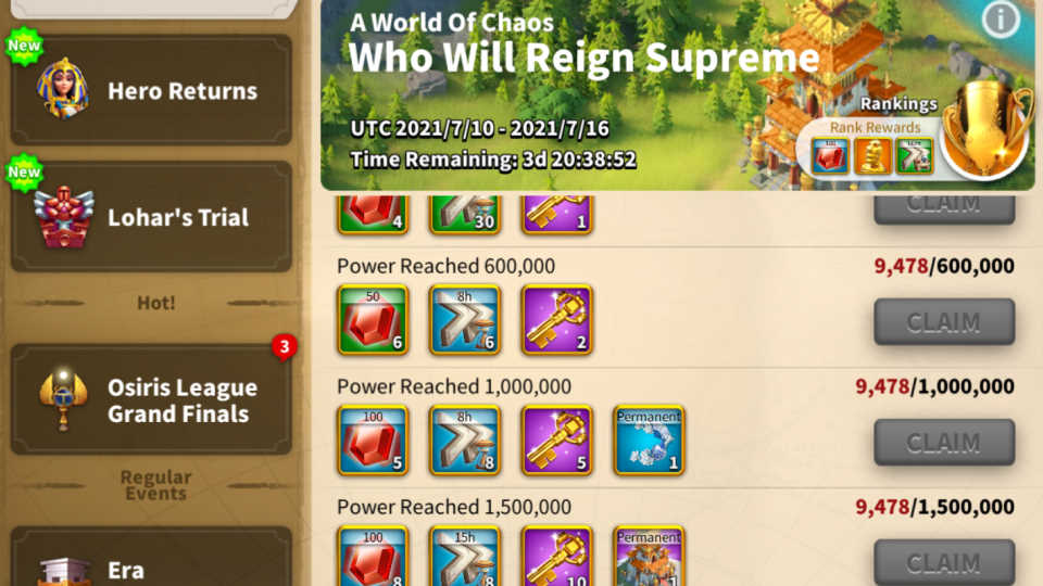 How to Get More Speedup Events Rise of Kingdoms