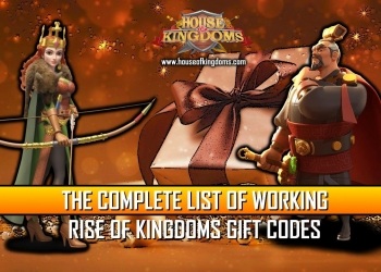 Rise of Kingdoms Working Gift Codes
