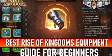 Best Rise of Kingdoms Equipment Guide
