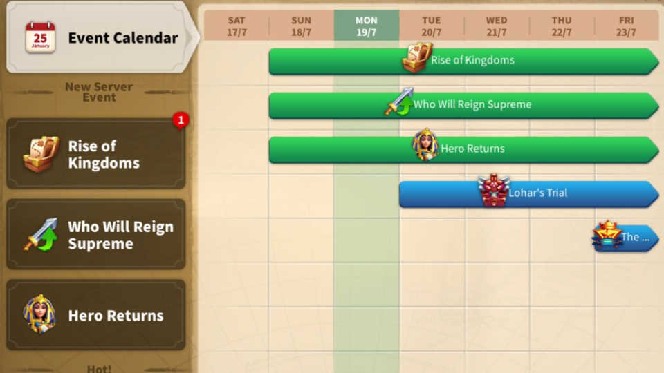 Events Rush VIP 6 Rise of Kingdoms Guide
