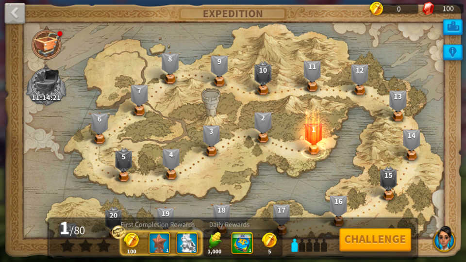 Expedition Mode Rush VIP 6 Rise of Kingdoms Guide