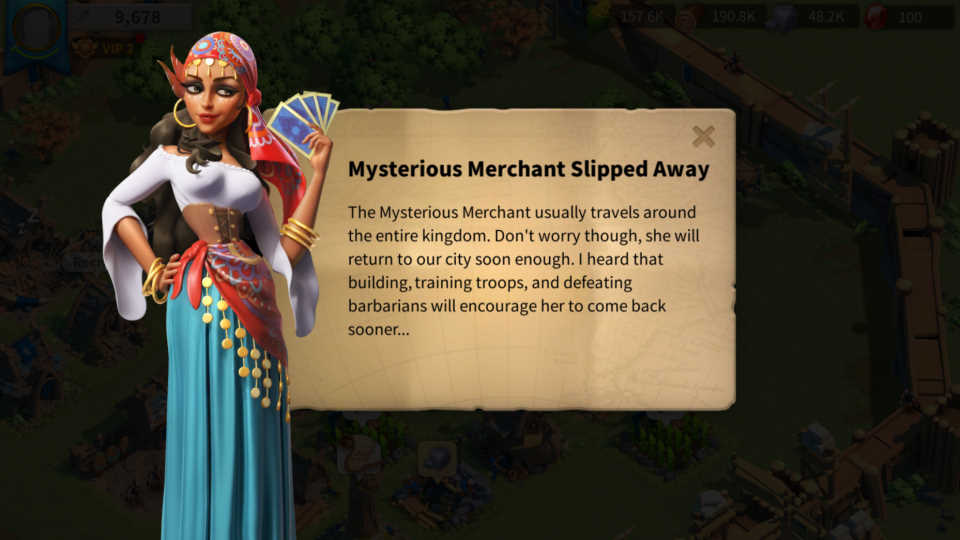 Mysterious Shop Rise of Kingdoms Guide