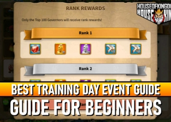 Best Training Day Event Guide Rise of Kingdoms