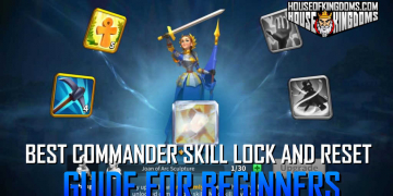 Best Commander Skill Lock and Reset Guide for Beginners Rise of Kingdoms