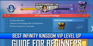 Best Infinity Kingdom VIP Level Up Guide