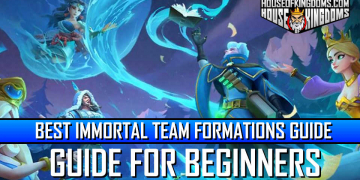 Best Immortal Team Formations Guide Infinity Kingdom