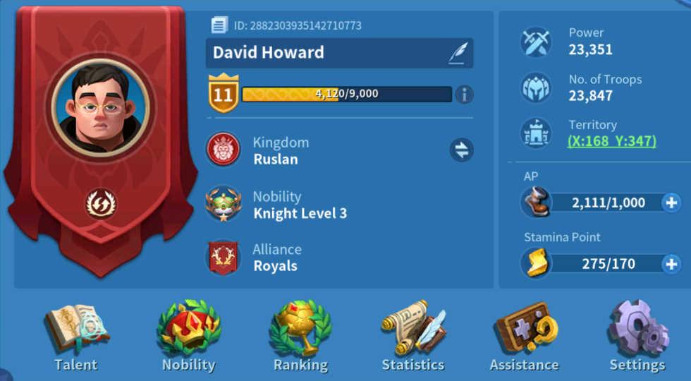 Lord Level Infinity Kingdom