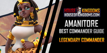 Best Amanitore Commander Guide Rise of Kingdoms