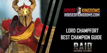 Best Lord Champfort Champion Guide Raid Shadow Legends