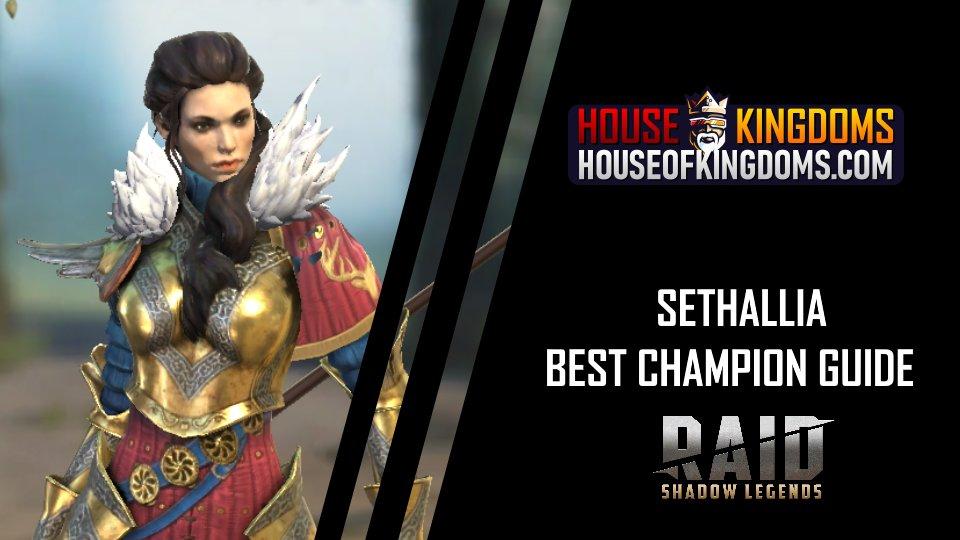 Best Sethallia Champion Guide Raid Shadow Legends