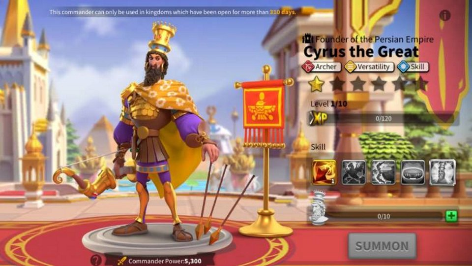 Cyrus the Great Rise of Kingdoms