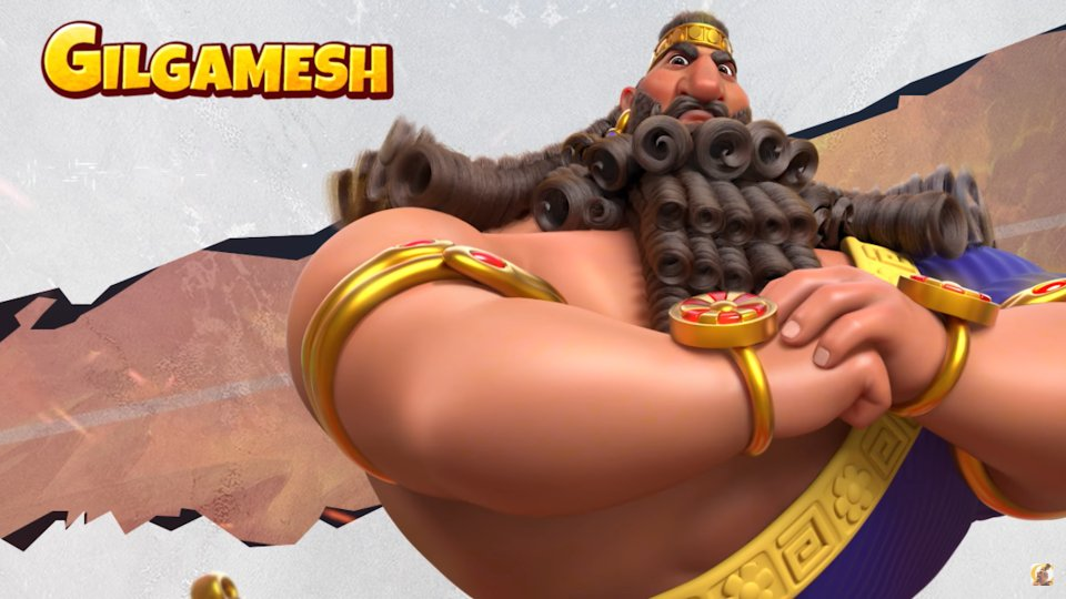 Gilgamesh Rise of Kingdoms Commander