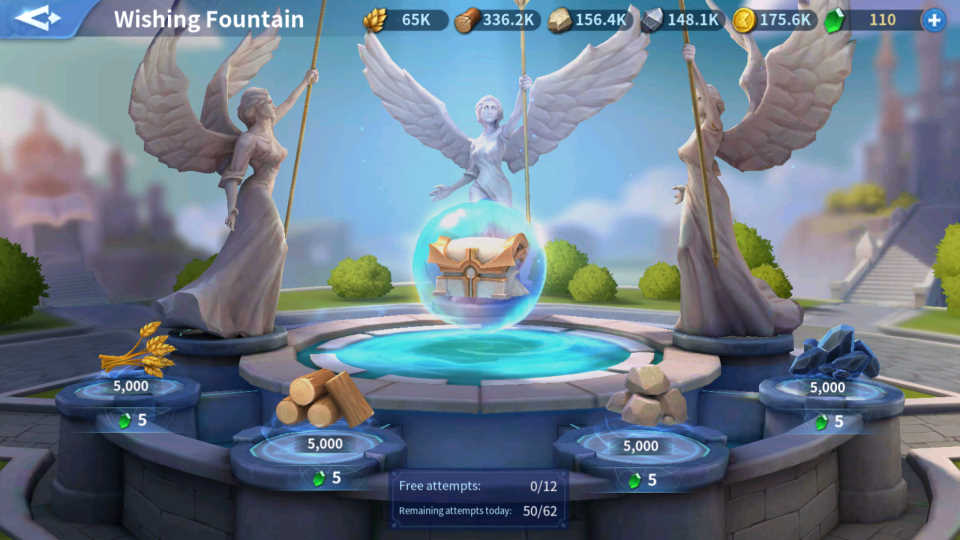 How Does Wishing Foundation Works Infinity Kingdom Guide