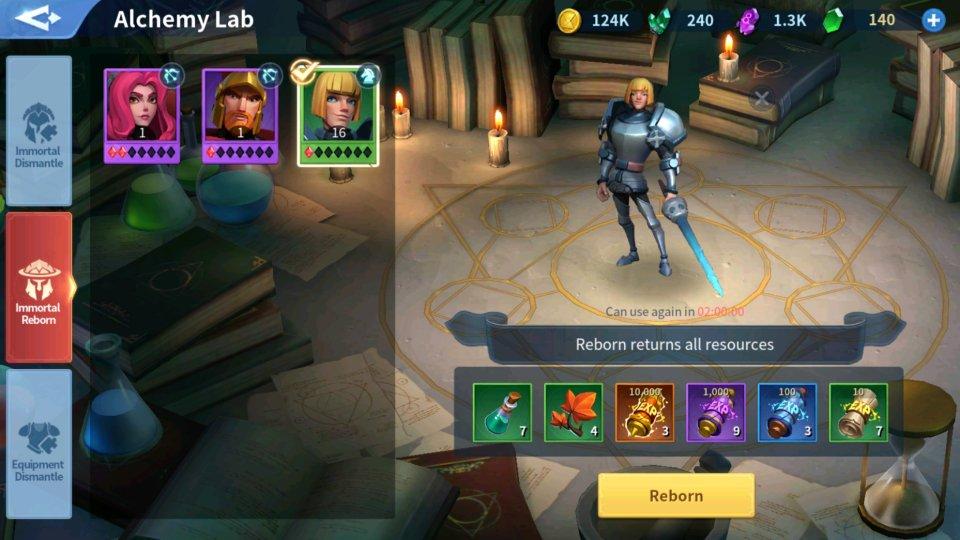 Immortal Reborn Alchemy Lab Infinity Kingdom Guide