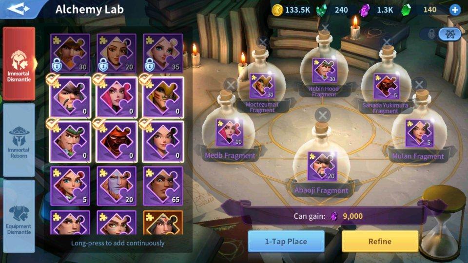 Soul Crystals Alchemy Lab Infinity Kingdom Guide