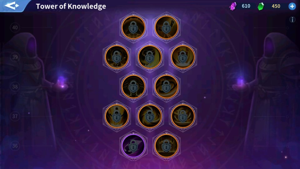 Tower of Knowledge Passive Skill Infinity Kingdom Review